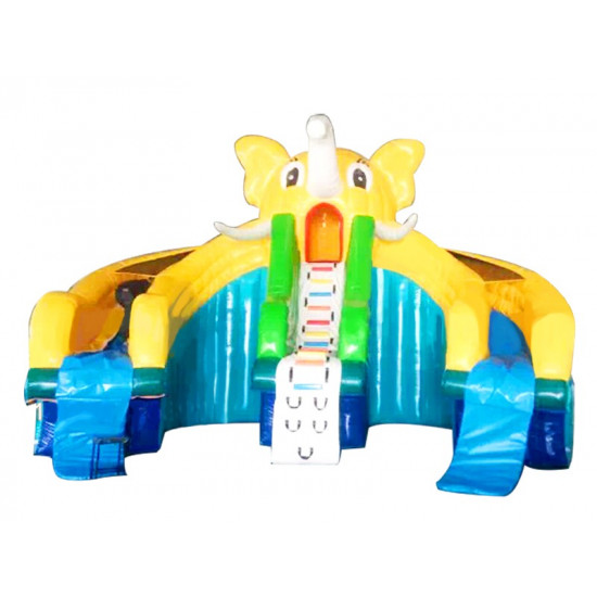大象水滑梯