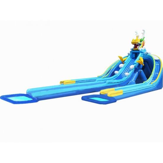 三道龙充气水滑梯