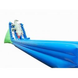 大型鳄鱼充气水滑梯