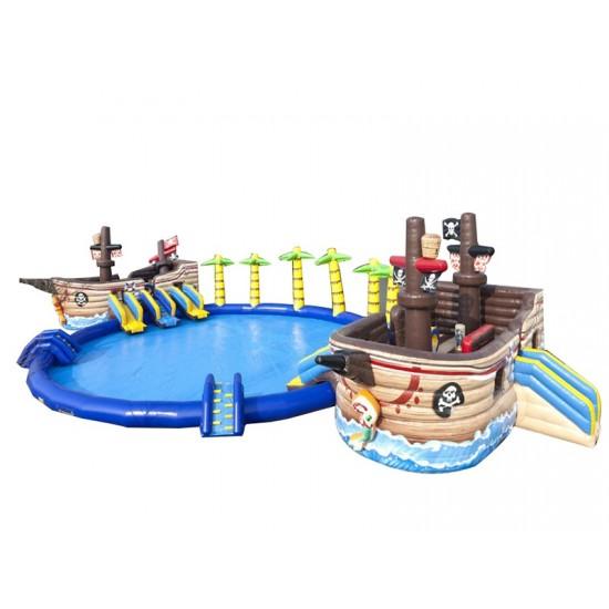 海盗船水滑梯
