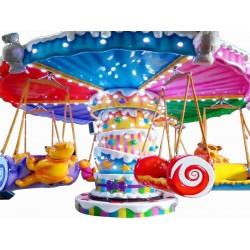 旋转动物园游乐设备